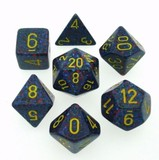 Chessex Speckled Polyhedral Dice Set - Twilight