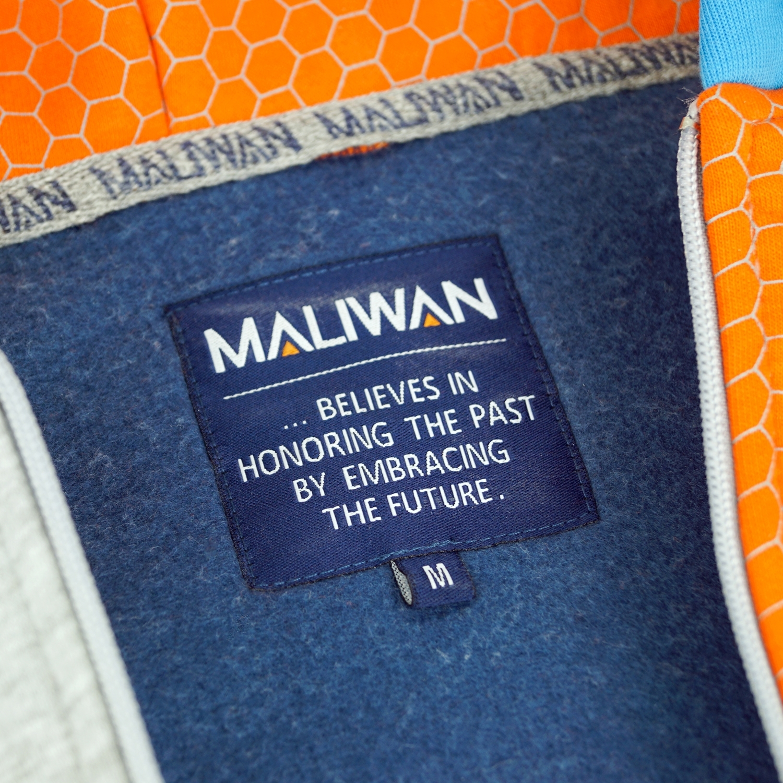 Borderlands Maliwan Zip-up Hoodie (Small) image