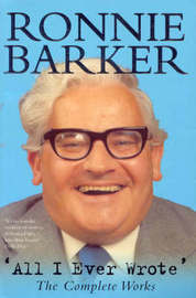 All I Ever Wrote by Ronnie Barker image