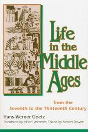Life in the Middle Ages by Hans-Werner Goetz image