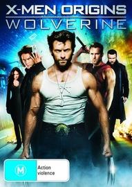 X-Men Origins: Wolverine on DVD image