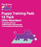 Puppy Training Pads 60x60cm 15 pack