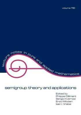 semigroup theory and applications by . Clement image