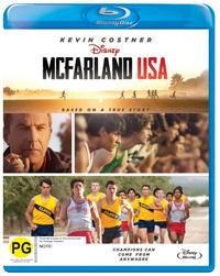 McFarland, USA on Blu-ray