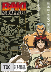Baki The Grappler - Round 11: Buren's Experiment on DVD