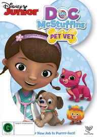 Doc McStuffins: Pet Vet on DVD