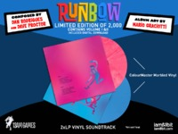 Runbow Original Soundtrack (2LP) by Dan Rodrigues