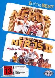 Revenge Of The Nerds / Revenge Of The Nerds II - 2 Of The Best (2 Disc Set) on DVD image