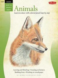 Drawing: Animals in Colored Pencil by Debra Kaufman Yaun