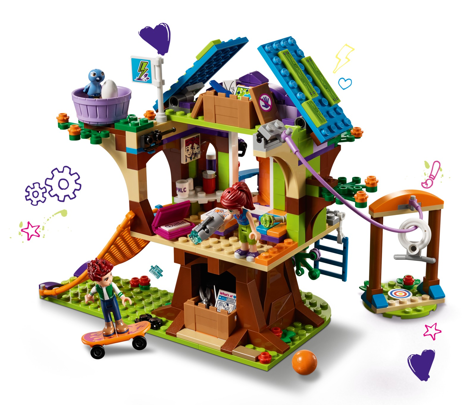 LEGO Friends: Mia's Tree House (41335) image