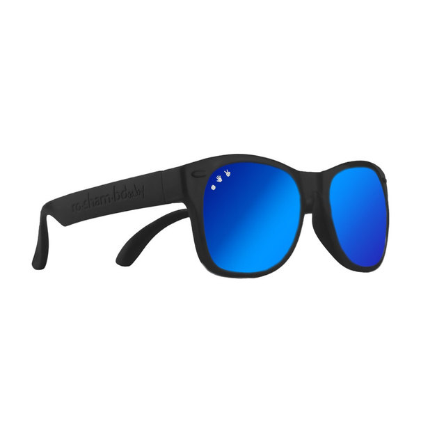 0fd9b888dd Buy Ro.Sham.Bo  Baby Shades - Black Bueller (Dark Blue Mirror Lens) at  Mighty Ape NZ