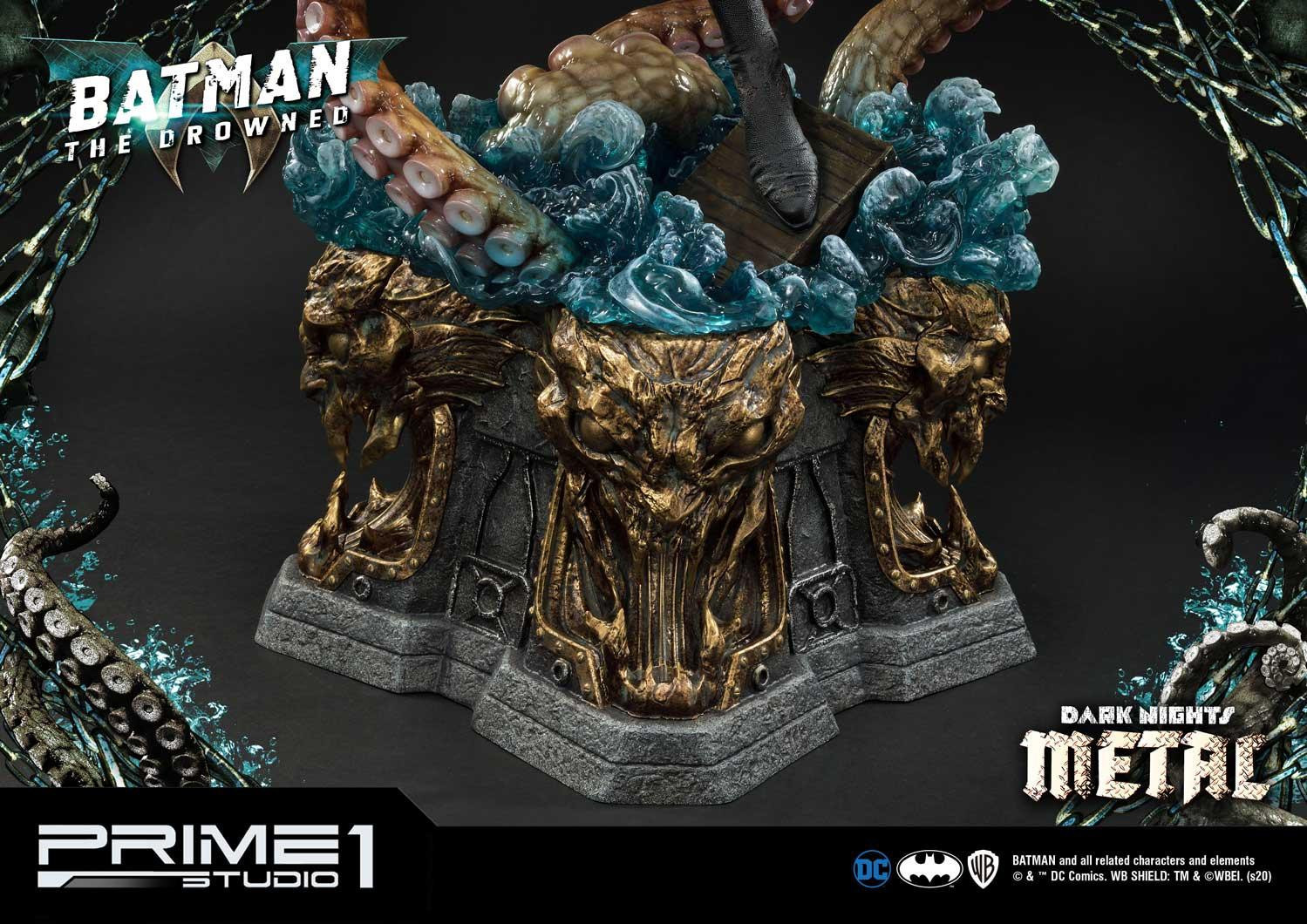 "Dark Knights: Metal - The Drowned (Deluxe) - 35"" Premium Statue image"