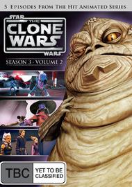 Star Wars: The Clone Wars - Season 3 Volume 2 on DVD image
