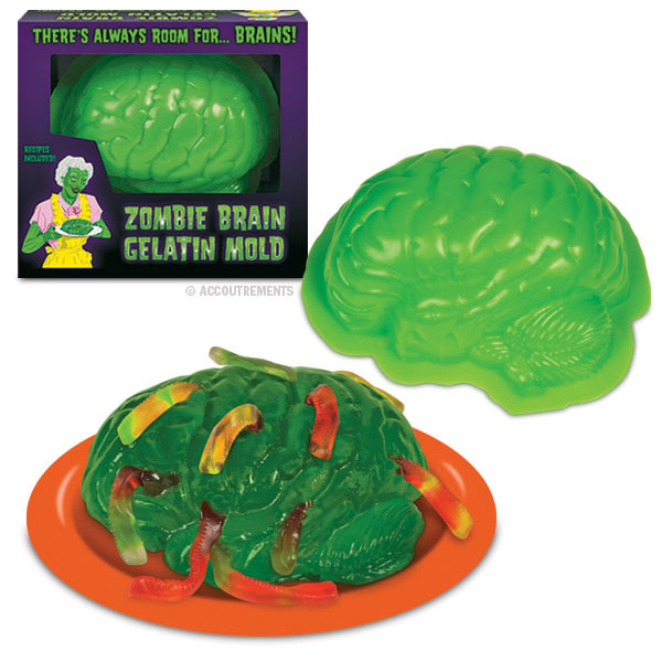 Zombie Brain Jelly Mould