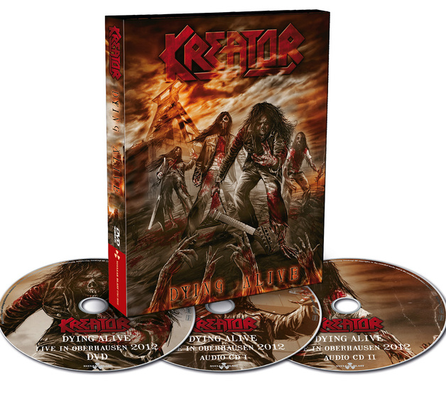 Dying Alive (Blu-ray/2CD) by Kreator