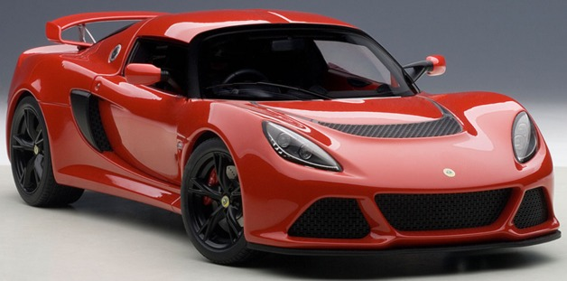 AUTOart: 1/18 Lotus Exige S (Red) - Diecast Model