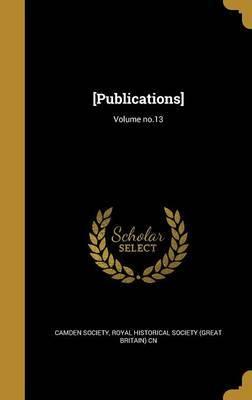 [Publications]; Volume No.13 image
