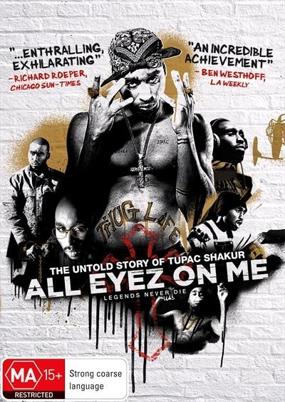 All Eyez On Me on DVD image