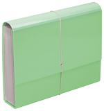 FM: A4 Pastel - Expanding File (Mint Green)