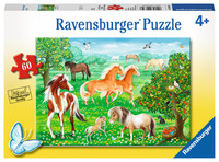 Ravensburger : Mustang Meadow Puzzle 60pc