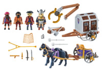 Playmobil: The Movie - Charlie with Prison Wagon (70073)