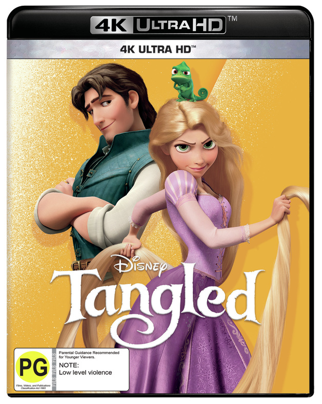 Tangled on UHD Blu-ray