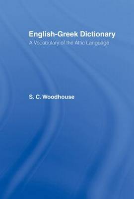 English-Greek Dictionary by S.C. Woodhouse image