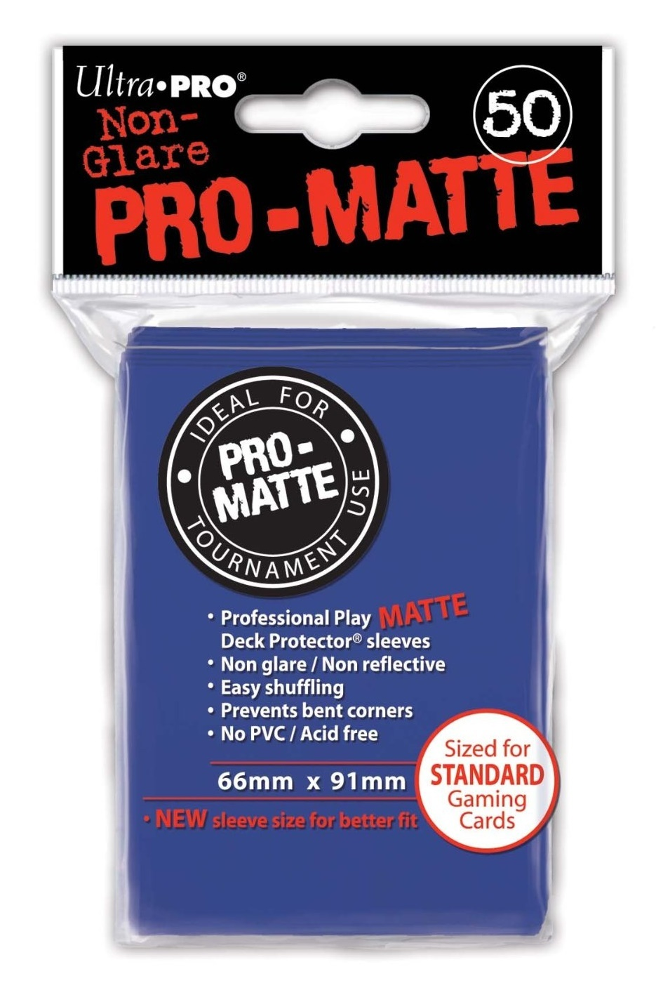 Ultra Pro: Pro-Matte Deck Protector Sleeves - Blue image