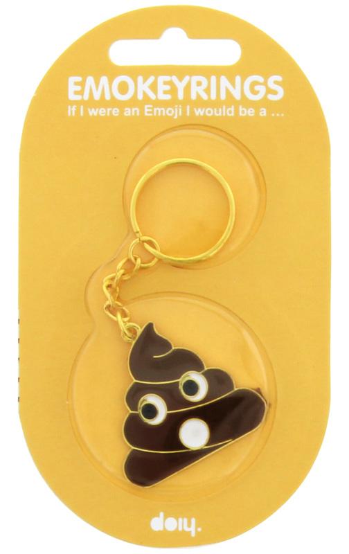 Emokeyrings - Poo Key Ring