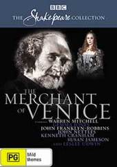 Merchant Of Venice, The (1980) (Shakespeare Collection) on DVD