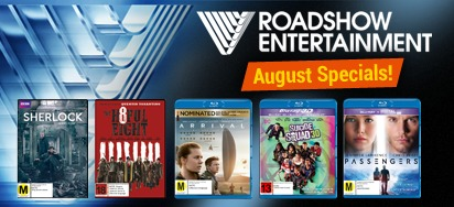Roadshow Entertainment August Specials - UP TO 35% OFF!