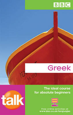 TALK GREEK COURSE BOOK (NEW EDITION) by Karen Rich image