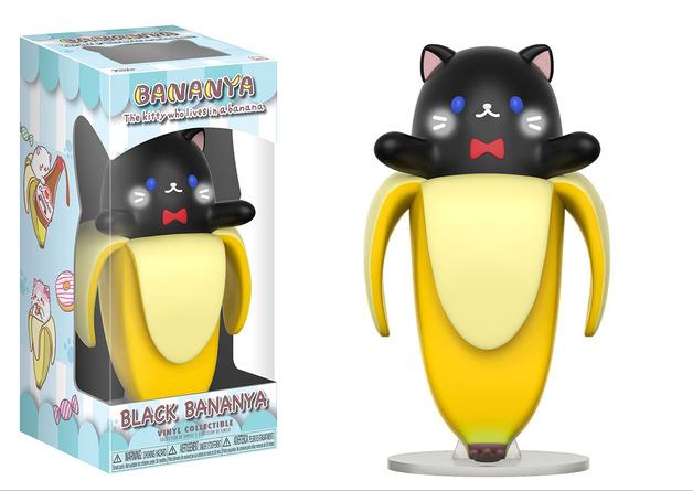 Bananya - Black Bananya Vinyl Figure
