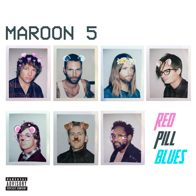 Red Pill Blues - Deluxe Edition by Maroon 5