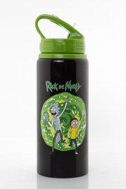 Rick and Morty: Aluminium Drink Bottle - (700ml)