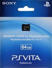 Playstation Vita 64GB Memory Card for PlayStation Vita