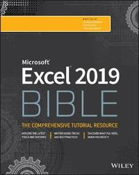 Excel 2019 Bible by Michael Alexander