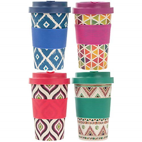 Nibble: Bamboo Travel Mug - 350ml (Assorted Designs)