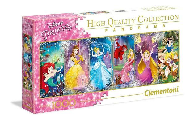 Clementoni: 1,000-Piece Puzzle - Disney Princess Panorama