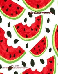 The Tastiest Watermelon 2019-2020 18 Month Large Academic Planner by Laura's Cute Planners