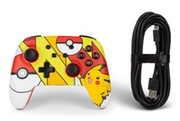 Nintendo Switch Enhanced Wired Controller (Pikachu Pop Art) for Switch