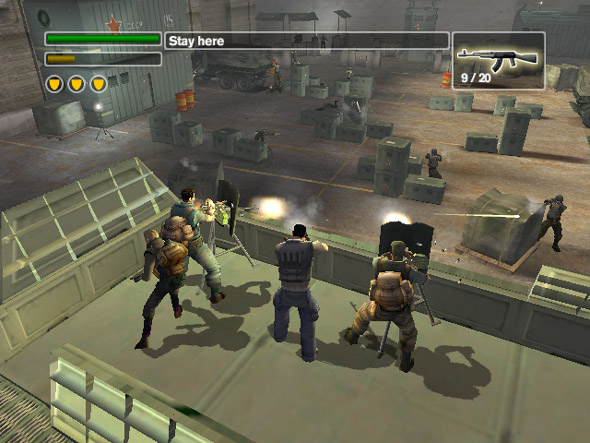 Freedom Fighters screenshot