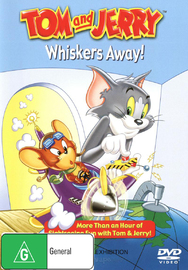 Tom And Jerry - Whiskers Away! on DVD image