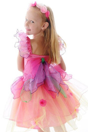 Fairy Girls - Paris Daisy Fairy Dress (Medium, age 4-6)