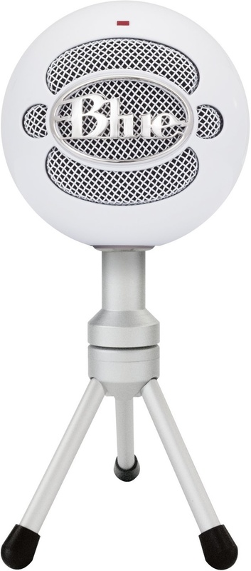 Blue Microphones Snowball iCE USB Condenser Microphone (White) for