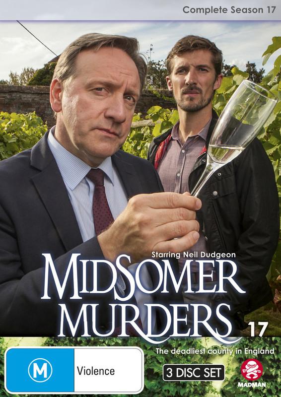 Midsomer Murders - Complete Season 17 on DVD
