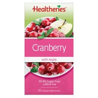 Healtheries Cranberry with Apple Tea (Pack of 20)