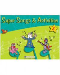 Super Songs and Activities 2: Student's Book with Audio CD by David Allan image