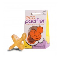 ecoPacifier: Natural Rubber Dummy - Orthodontic (0-6 mths)