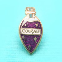 Jubly-Umph Elixir of Courage Lapel Pin image